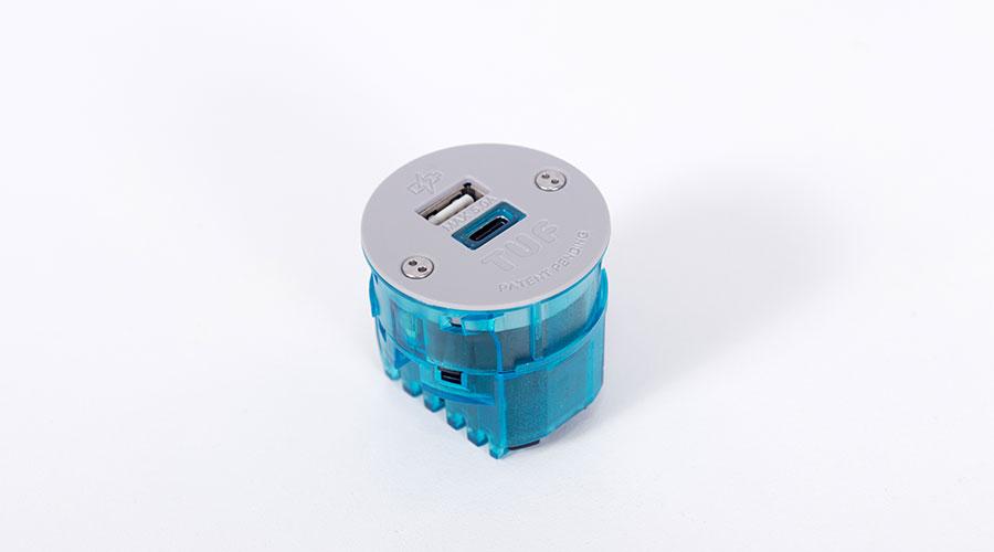 ŁADOWARKA USB A+C WYMIENNA