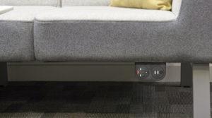 Mediaport montowany do sof